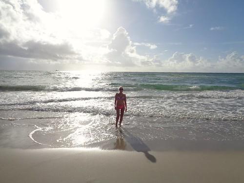 Toda la playa para nosotros...