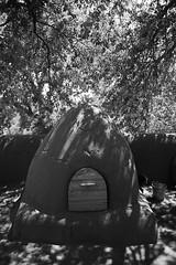 El Rancho de las Golondrinas 17 (karl_eschenbach) Tags: lacienega newmexico nm southwest sw blackandwhite bw adobe