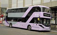 YP17UGM Nottingham City Transport 421 (martin 65) Tags: enviro e400 enviro400 city biogas bio gas 400 mmc nottingham nottinghamshire road transport public vehicle vintage bus buses
