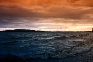 Stormy Weather on Lake Constance