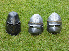 27vii2017 Stokesay 27 (garethedwards36) Tags: helmet armour headware hat stokesay castle shropshire uk lumix history