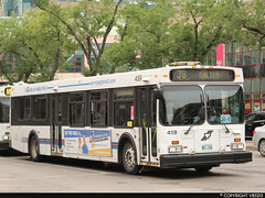 Winnipeg Transit #459 (vb5215's Transportation Gallery) Tags: winnipeg transit 1999 new flyer d40lf