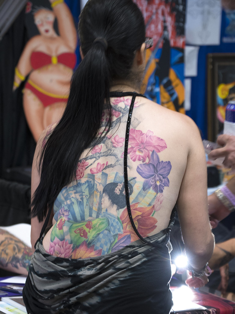 The world 39 s best photos of adam and tattoo flickr hive mind for Coral springs tattoo