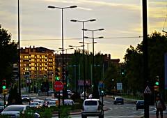 Atardecer-Zaragoza (portalealba) Tags: zaragoza aragon españa spain sunset atardecer portalealba pentax pentaxk50 calle street nwn