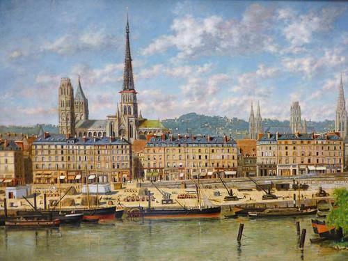 Rouen - Musee des Beaux-Arts, ANCILLOTTI detail