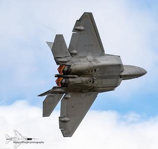USAF Lockheed Martin F22A Raptor