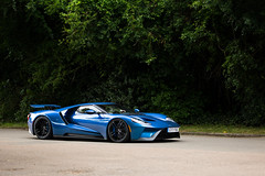 Ecoboost (Aimery Dutheil photography) Tags: ford gt fordgt blue v6 ecoboost gt40 american goodwood fesstivalofspeed fosgoodwood supercar amazing exotic fast speed canon 6d
