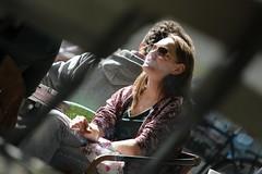 smoke (if you insist) Tags: candid cigarette smoking smoker tobacco nicotine addict exhale female gwg