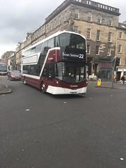 Lothian buses Wright Eclipse Gemini 3 SJ66LPX 456 (Daniely buses) Tags: service22 456 sj66lpx wright wrighteclipsegemini3 lothianbuses