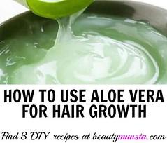 Best Beauty Diy Tips : diy aloe vera gel hair growth recipes...
