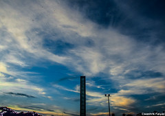 Before Sunset (MashrikFaiyaz) Tags: sky skyline landscape cityscape urban city evening dusk nikon dark twilight colors dhaka d5300 southasia bangladesh asia cloudy blue clouds sunset june summer flickrunitedaward lightroom tower architectural nature natural light original beauty beautiful wide