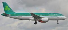 EI-DVG 13-8-17 Landing on Runway 10 At Dublin Airport Aer Lingus A320-214 (Conor O'Flaherty) Tags: airbus aerlingus landing dublinairport eidw a320 beacon ireland spotting canon