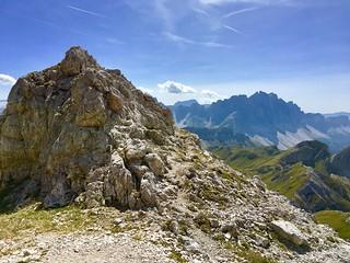 Peitlerkofel, vor dem Gipfel