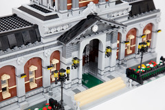 Module Station (morimorilego) Tags: lego city modular modulars train