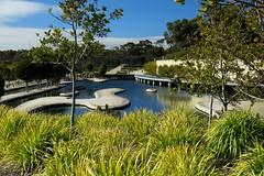 Cranbourne RBG Aug 2017 107 (Graeme Butler) Tags: water landscape history gardens australianplants architecture victoria australia