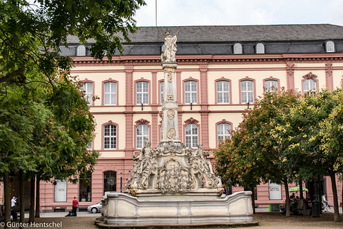 Wasserspiele in Trier