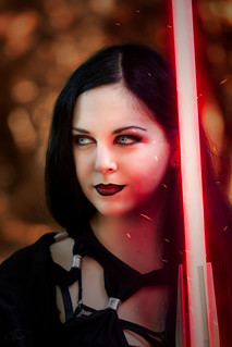 Sith Lord cosplay