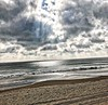 Here comes the sun... (eyedocal) Tags: bethanybeach imperialphotography iphone7 iphoneography