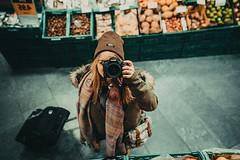 (•:*´¨`*:•.☆Diℓeyℓα ☆•:*´¨`*:•) Tags: selfie selfieshot mirror mirrorshot lookslikefilm grain vscofilm nikon dof winter me camera hungary vsco hat girl portrait selfportrait