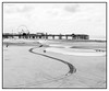 Central Pier, Blackpool (Steve U) Tags: blackpool north west nw coast sea seaside sand beach pier low tide exposed people walking tracks august holidays vacation central viewed from