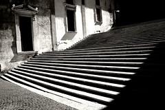 Some Stairs only (Tobi_2008) Tags: treppe stairway schwarzweiss rom roma rome italien italia italy europa europe elitegalleryaoi bestcapturesaoi aoi
