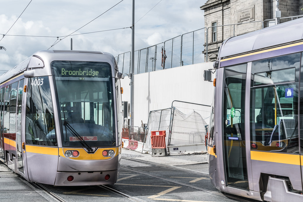 THE NEW LUAS TRAM STOP AT BROADSTONE [TESTING PHASE UNTIL EARLY DECEMBER]-1324711