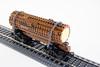 Spine Car (TheBrickFiles) Tags: shay lego logging classb caboose spine car train locomotive flat steam engine