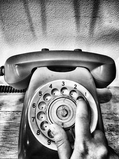 - missed call -  #phone #missedcalls #analog #stilllife #blackandwhitephoto #blackandwhite #monochrome #monochromephotography #bw #bnw #iphone #other #retro