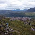Ascending bogland on Meall Garbh thumbnail