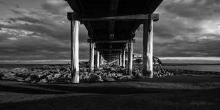 Under the Bare Island Bridge