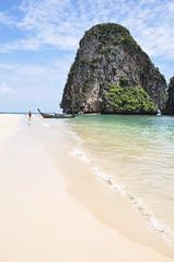 Railay Beach (marin.tomic) Tags: thailand thai krabi beach railay tropical tropic travel asia asian southeastasia traveller nikon d90 boat holiday vacation summer explored explore