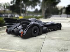 Replica of Tim Burton Era Batmobile, #3 (Greatest Paka Photography) Tags: batmobile timburton michaelkeaton keatonmobile auto vintage replica dc comics dccomics batman antonfurst sanmateo movie film wheels black