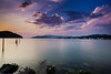 Making Fotos instead of Fishing (Dreamblenders) Tags: croatia vacation clouds violet lila sky pink pinkclouds water sea nature landscape sundown sunset summer sonyalpha6000