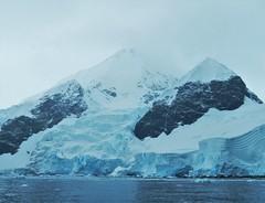 Sea-level glaciation.  Antarctic Peninsula, Feb. 2016. (Ruby 2417) Tags: glacier glaciation antarctica antarctic sea ocean coast peninsula