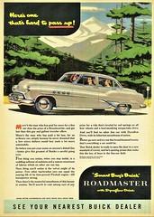 1951 Buick Roadmaster Riviera Sedan (aldenjewell) Tags: 1951 buick roadmaster riviera sedan ad