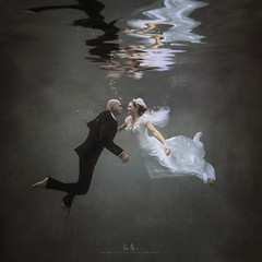 Taking the Plunge - Underwater Engagement Session (wesome) Tags: adamattoun underwaterphotography underwaterportrait engagement ikelite