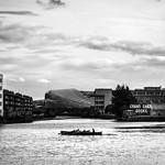 Grand Canal Docks - Dublin, Ireland - Black and white photography thumbnail