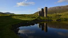 Ardvreck castle (andrewmckie) Tags: ardvreck ardvreckcastle assynt lochassynt landscape water lake reflection scotland scottish castle ruin scenicsnotjustlandscapes