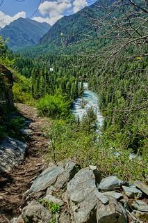 Altai. Valley of Kucherla river