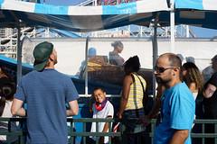 Wild River (dtanist) Tags: nyc newyork newyorkcity new york city sony a7 konica hexanon 40mm brooklyn coney island luna park wild river labor day ride queue visitors