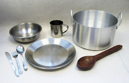 USAID kitchen set items