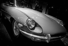 VANCOUVER (Dave GRR) Tags: monochrome auto jaguar jag street vancouver black white bw exotic vintage classic olympus omd em1 1240