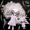 Boofy & Bootsy (Ana Camamiel) Tags: halloween ghost fantasma doll handmade handmadedoll artdoll feltdoll ghostdoll halloweendecoration muñeca