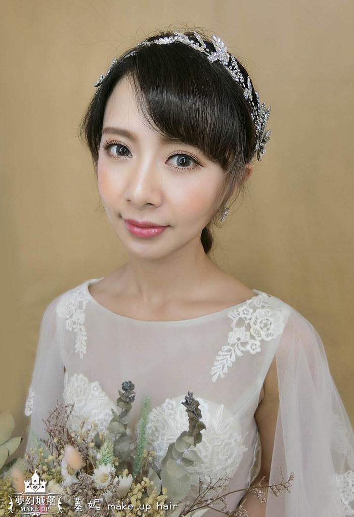 【新秘蓁妮】新娘造型創作 / 優雅四股編造型