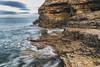 The Wherry (robinta) Tags: seaandsand sea water ocean seascape coast coastal coastline rock longexposure blur tide surf pentax sigma sigma1770 whitburn england wherry ngc pentaxart flickrunited flickrunitedaward nationaltrust