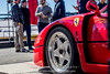 Red-Ferrari-F40-sports-car-in-sydney-by-la-lente-photography-people-standing (Paul D'Ambra - Australia) Tags: car red ferrari sportscar redsportscar redferrari vehicle motorvehicle redf40