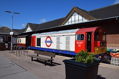 LT liveried 20227 on the North Norfolkman inaugral service into Cromer Station. 10 08 2016 (pnb511) Tags: northnorfolkrailway poppyline heritage preserved railway class20 diesel loco locomotive train station