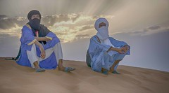 Tuareg men sitting on sand at sunset (maios) Tags: tuaregmensittingonsandatsunset tuareg men sitting sand sunset tuaregmen sanddunes dunes saharadesert merzouga morocco saharadesertmerzouga sahara desert muhammad iosif maios nikond7100 nikon d7100 bluemen twaregs beduin nomadic touaregs مُحَمَّد arabic mohamed africa arabia maroc