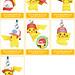 Pokemon Netsuke Mascot 20th Movie Ver. Figure Strap
