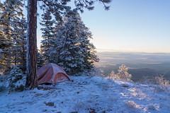 After the Storm (K Ivanov) Tags: grandcanyon nationalpark northrim arizona publicland conservation snow storm freezing cold crisp sunrise camping cliff morning tent